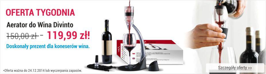 Oferta Tygodnia na Aeratory do Wina Divinto - najlepsza cena napowietrzaczy do wina
