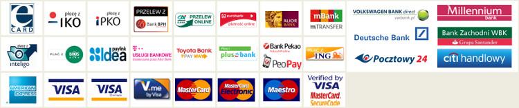 Płatności online - obsługiwane przez sklep GodsToys.pl