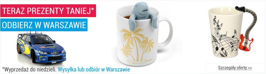 Szybka dostawa prezentów w Warszawie