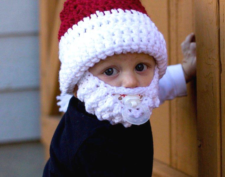 Czapka z broda dla dziecka swiety mikolaj sklep z prezentami warszawa