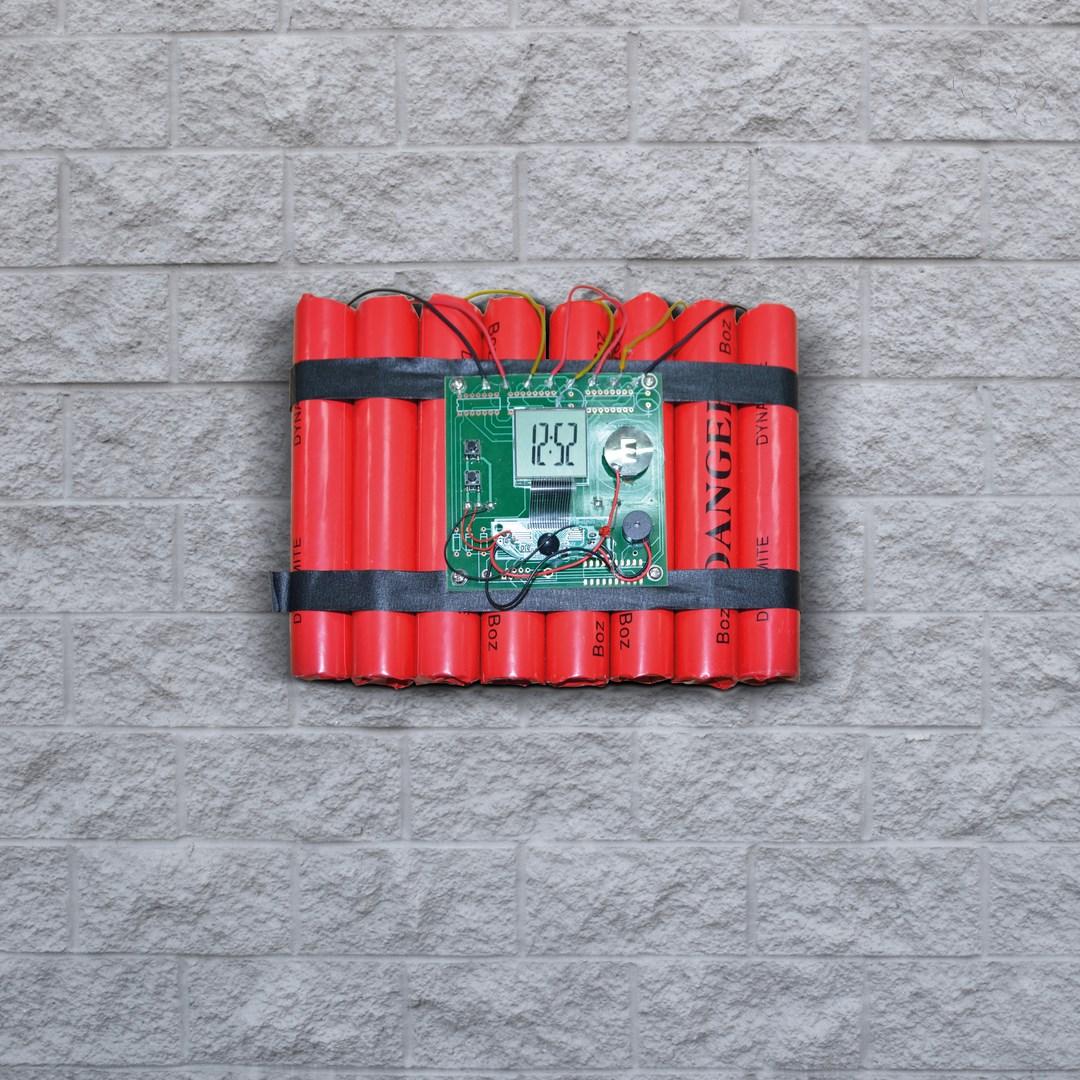 Budzik dynamit prezenty warszawa