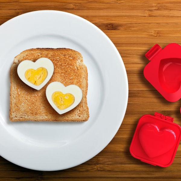 Forma do jajek Serce - akcesoria kuchenne dla niej