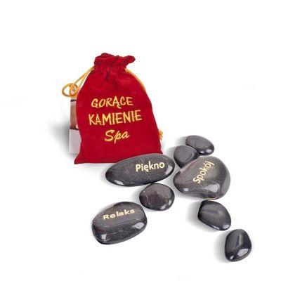 Gorące kamienie do masażu - prezent dla niej