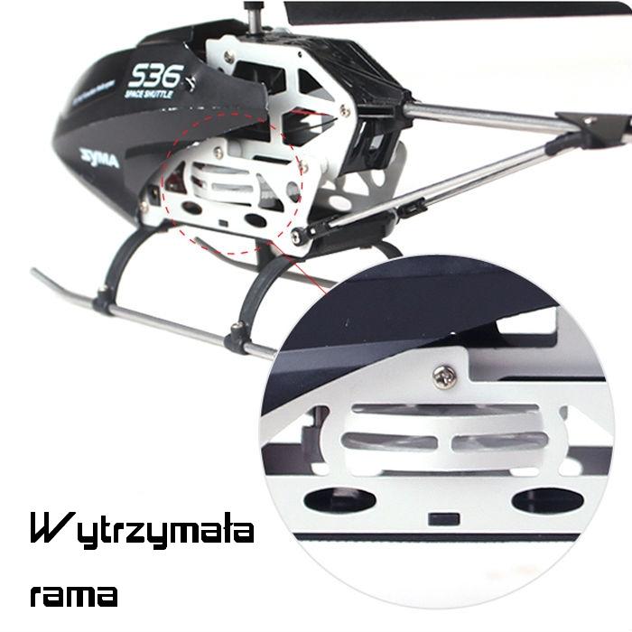 Helikopter Zdalnie Sterowany RC SYMA S36 dla chłopaka