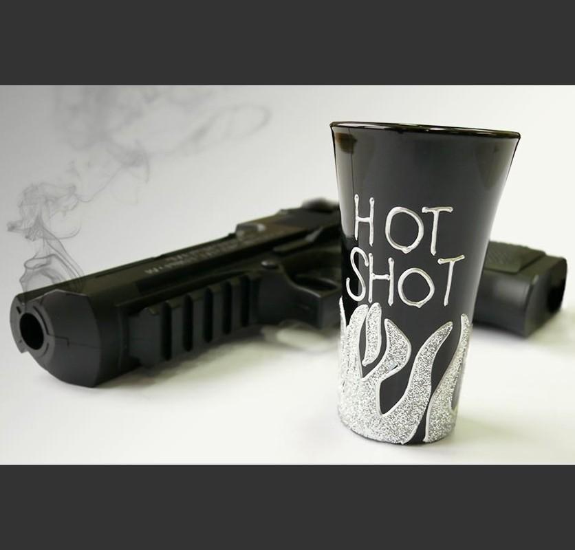 Kieliszek do Wódki Hot Shot Prezent dla niego