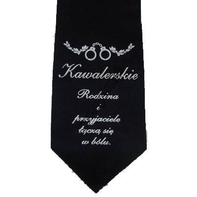 Krawat Kawalerski - Rodzina i Przyjaciele Łączą Się w Bólu Warszawa