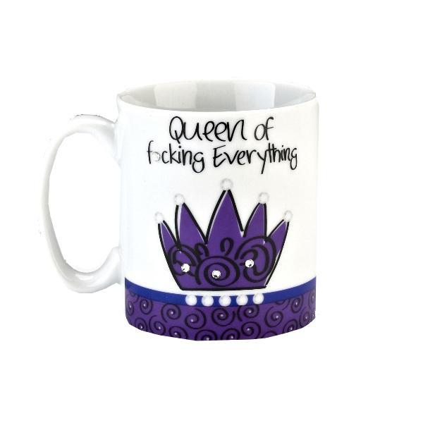 Kubek Królowej Śmieszny prezent dla dziewczyny na wieczór panieński