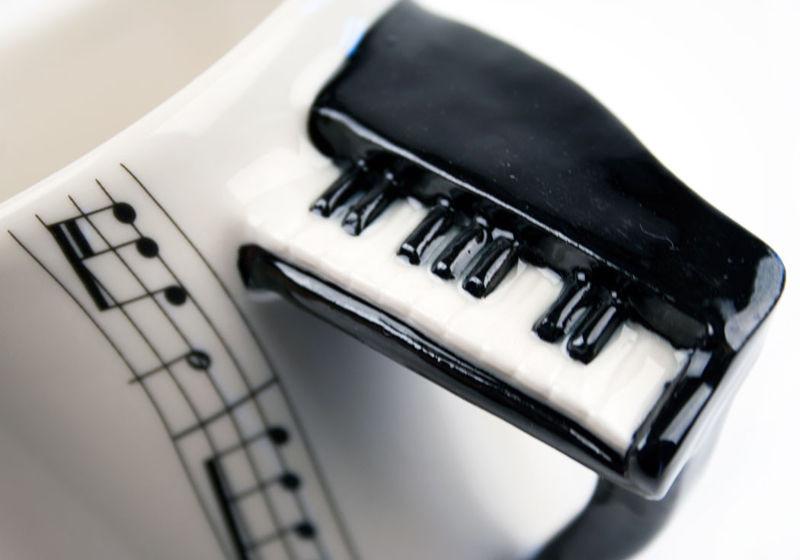 Kubek Muzyka Pianino sklep z prezentami