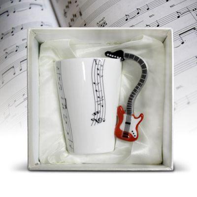Gitarowy Kubek Muzyka prezent dla dziewczyny warszawa