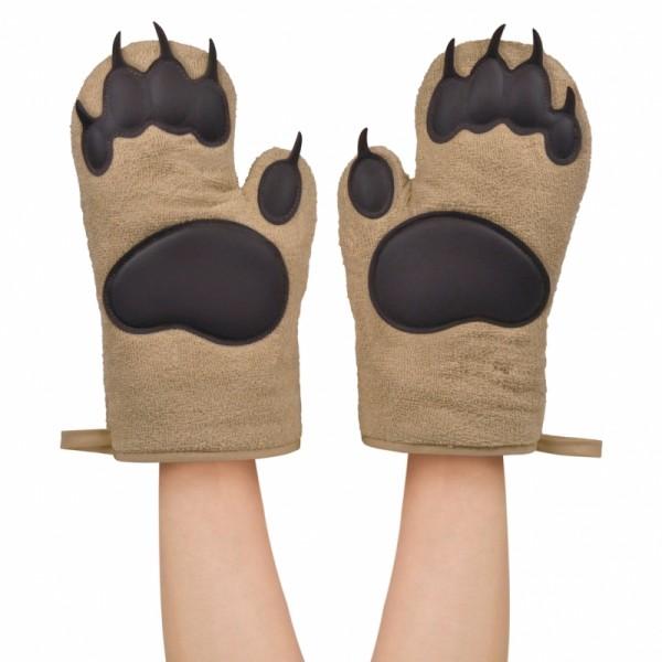 Kuchenne rękawice Bear Hands pomysł prezentu dla niego