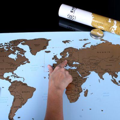 Mapa podróżnika odkrywcy warszawa
