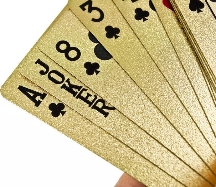 Talia Złotych Kart do Pokera - Prezent dla niego