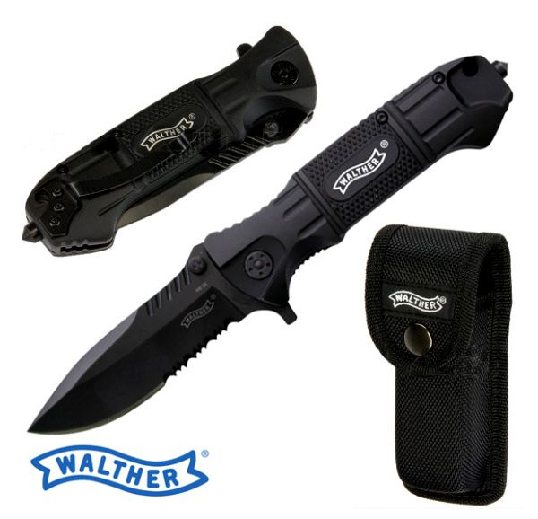 Walther Nóż Taktyczny BlackTac Tanto Prezenty dla niego