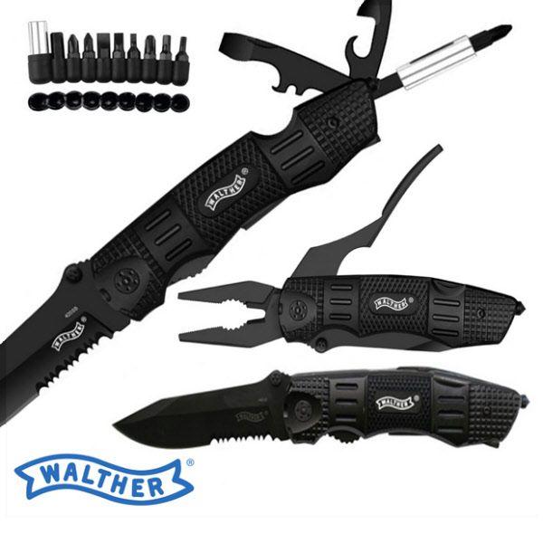 Walther Nóż z Narzędziami Multi Tac Prezent dla Niego