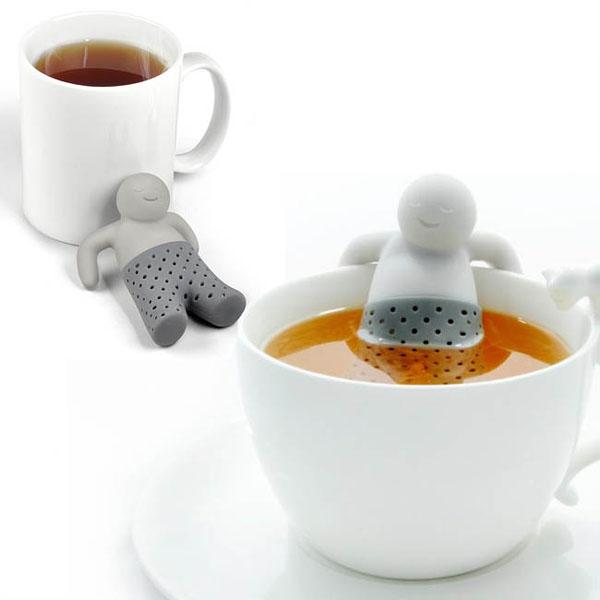 Zaparzaczka Zrelaksowany Mr. Tea - prezent dla niego