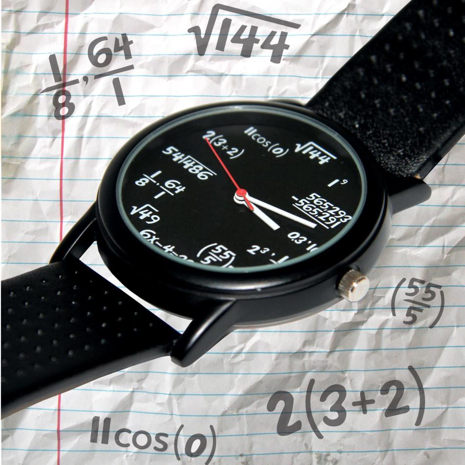 Zegarek Matematyka - śmieszny prezent dla niego
