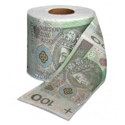 Papier toaletowy 100 zl Prezenty warszawa
