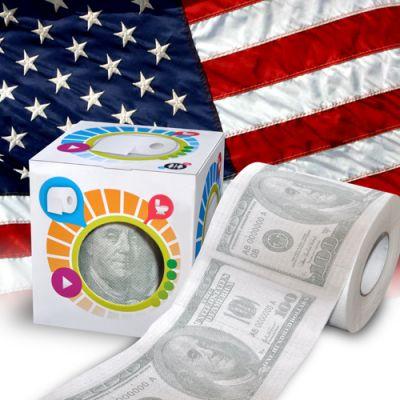 Prezent-Warszawa-Papier-Toaletowy-100-dolarów