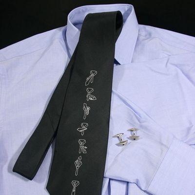 Krawat z instrukcja wiązania prezenty dla mężczyzny warszawa