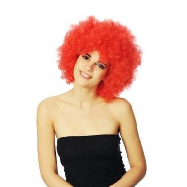 Picture of Peruka Afro Czerwona