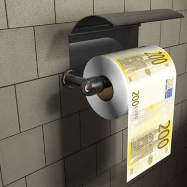 Obrazek Papier Toaletowy 200 Euro XL