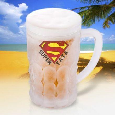 Obrazek Lodowy Kufel Super Tata