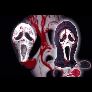 Obrazek Krwawiąca Maska Krzyk