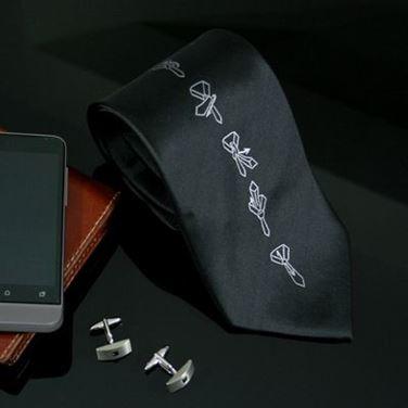 Obrazek Krawat z Instrukcją Wiązania