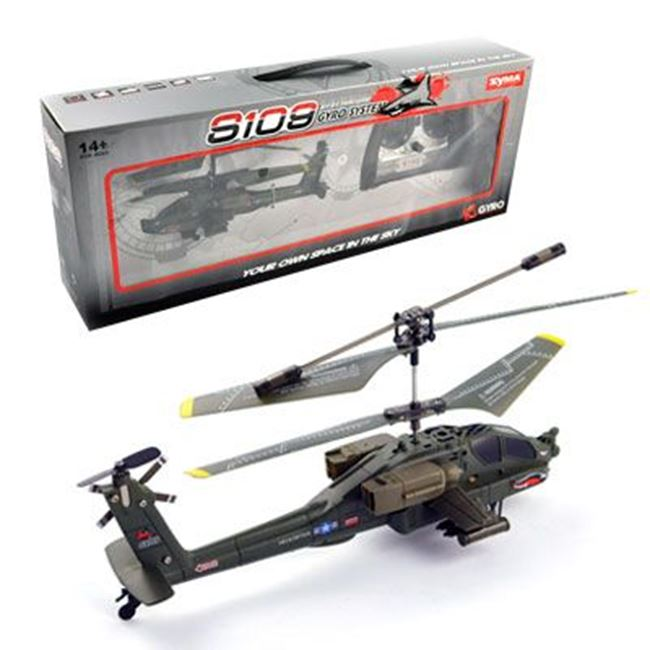 Picture of Helikopter RC Syma S109G Apache