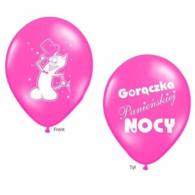 Picture of Balony Gorączka Panieńskie Nocy - Różowe