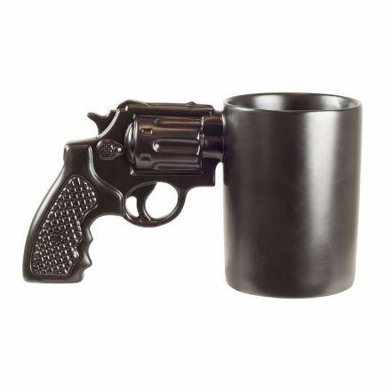 Kubek w kształcie Pistoletu Prezent dla Mężczyzny