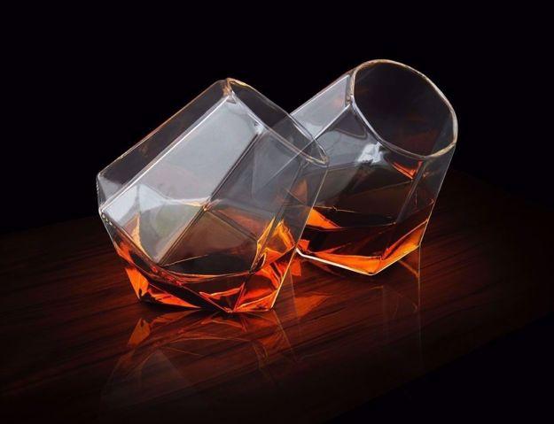 Diamentowe Szklanki do whiskey idealne na prezent dla ojca