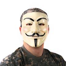Picture of Maska Anonymous - Kremowa