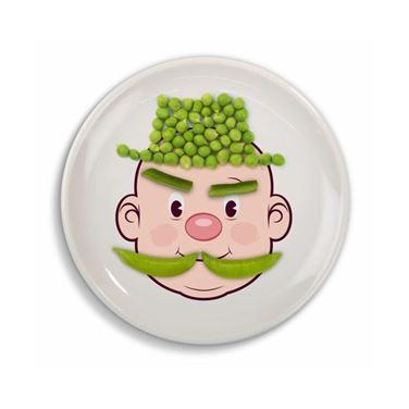 Obrazek Talerz Niejadka - Pan Food Face