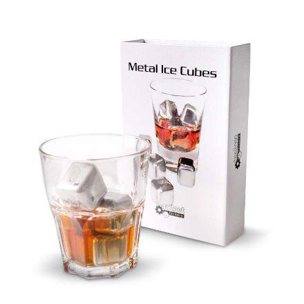 Obrazek Metalowe Kostki do Drinków