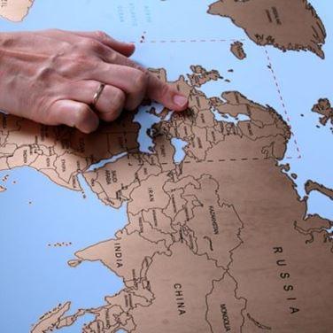 Obrazek Mapa Podróżnika  - Wersja Angielska