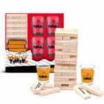 Imprezowa Wieża gry alkoholowe prezent na parapetówkę