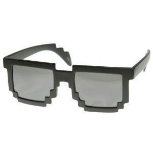 Picture of Pikselowe Okulary 8 bit - Czarne