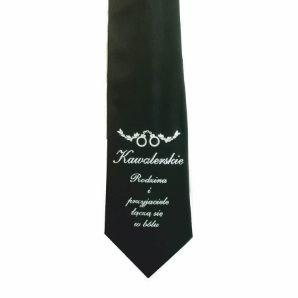 Picture of Krawat Kawalerski - Rodzina i Przyjaciele Łączą się w Bólu