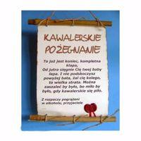 Picture of Dyplom Bambus - Kawalerskie Pożegnanie