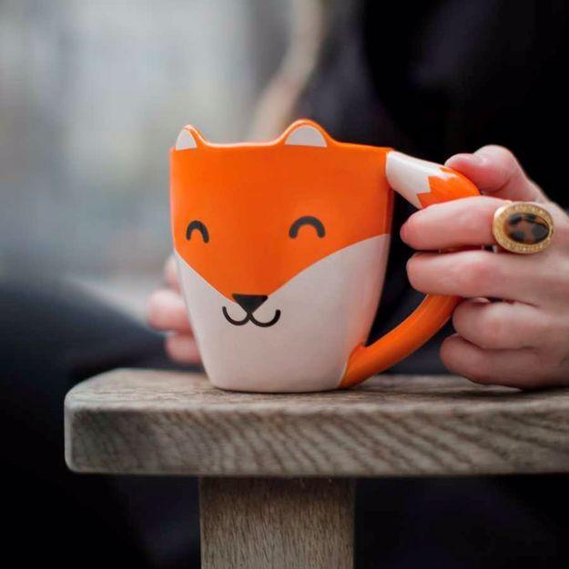 Podaruj Fox Mug swojej kobiecie i zobacz uśmiech na jej twarzy!