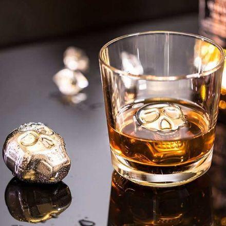 Obrazek Metalowe Czaszki do Drinków