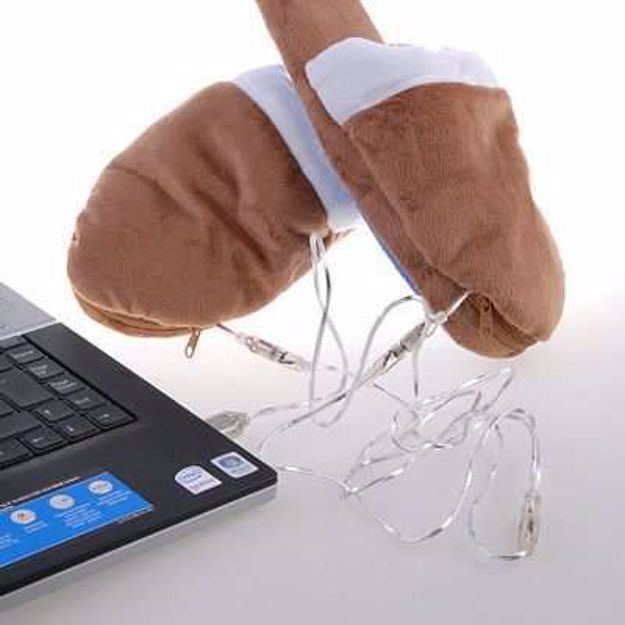 Picture of Grzejące kapcie USB