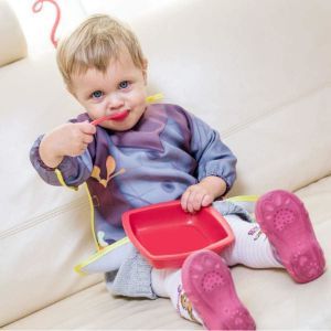 Baby Szeryf śliniak z rękawami świetny prezent dla chłopca