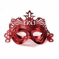 Maska wenecka czerwona warszawa