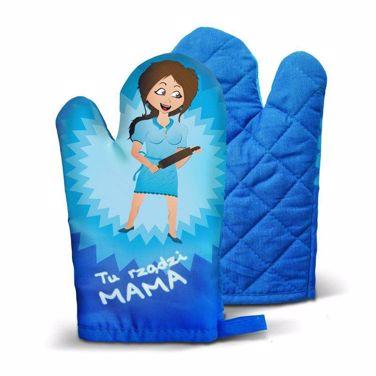 Rękawica tu rządzi mama prezent dla mamy