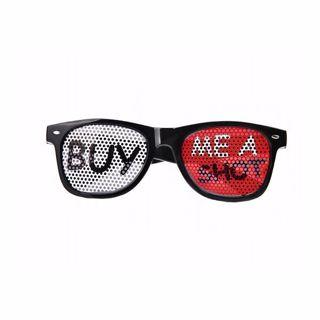 Okulary Buy me a Shot okulary prezent dla niej warszawa