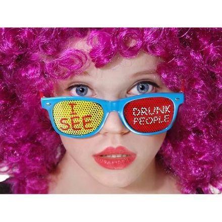 Okulary I See Drunk People gadżety imprezowe