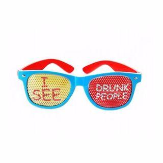 Okulary I See Drunk People gadżety imprezowe warszawa