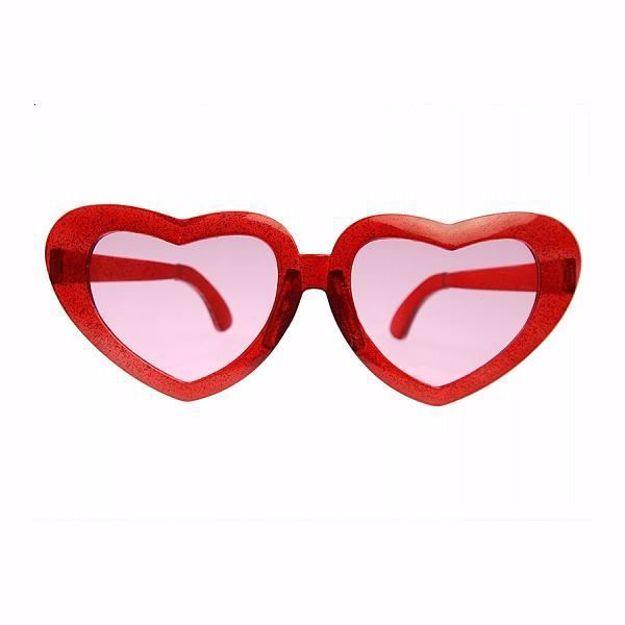 Okulary Duże Serca okulary imprezowe warszawa